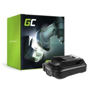 Green Cell akkumulátor BL1016 BL1021B BL1040B BL1041B Makita DF031 DF331 HP330 HP331 TD110 TM30 UM600