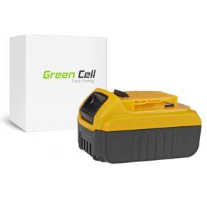 Green Cell Kéziszerszám akkumulátor DeWalt DCB140 DCB141 DCB142 DCB140-XJ DCB141-XJ 14.4V 3Ah
