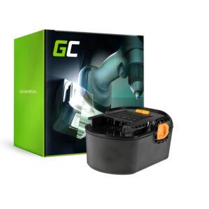 Green Cell Kéziszerszám akkumulátor AEG BS 14 G BS 14 X 14.4V 3Ah