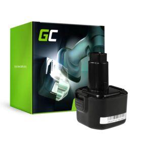 Green Cell Kéziszerszám akkumulátor Dewalt DE9036 DE9061 9.6V 2Ah