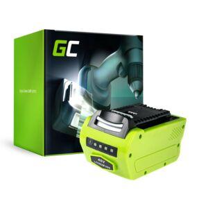 Green Cell Kéziszerszám akkumulátor GreenWorks 2601102 G-MAX 40V 4Ah Samsung