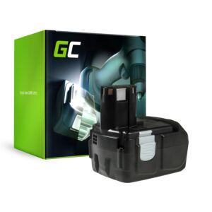 Green Cell Kéziszerszám akkumulátor Hitachi BCL1815 C18DL 18V 2Ah