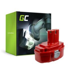 Green Cell Kéziszerszám akkumulátor Makita 1815 1822 1835 192828-1 4334D 18V 3Ah