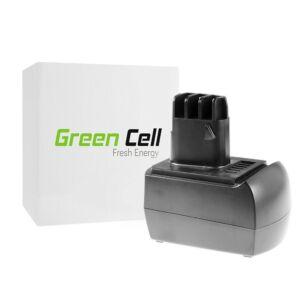 Green Cell Kéziszerszám akkumulátor Metabo BS 12 SP BSZ 12 12V 2Ah