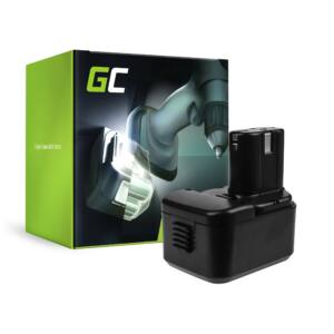 Green Cell kéziszerszám akkumulátor Hitachi EB9B EB926H EB930H 9.6V 2Ah