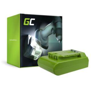 Green Cell akkumulátor kosiarki GreenWorks 29852 G-24 G24 24V 2Ah Panasonic