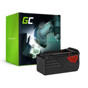 Green Cell Kéziszerszám akkumulátor HILTI TE6A 36V 3Ah