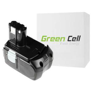 Green Cell Kéziszerszám akkumulátor Hitachi BCL1815 C18DL 18V 1.5Ah