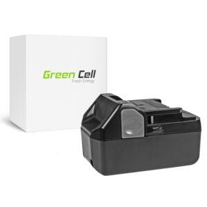 Green Cell Kéziszerszám akkumulátor Hitachi C18DSL C18DSL2 C18DSLP4 CG18DSDL CJ18DSL 18V 4Ah