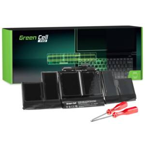 Green Cell Pro Laptop akkumulátor A1417 Apple MacBook Pro 15 A1398 (Mid 2012 Early 2013)