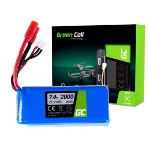 Green Cell akkumulátor Syma X8C X8G X8HC X8HG X8HW X8W 7.4V 2000mAh
