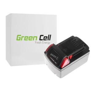Green Cell Kéziszerszám akkumulátor Milwaukee C18 M18 18V 4000mAh