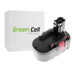 Green Cell Kéziszerszám akkumulátor Bosch PSR 18VE-2 GSB 18VSE-2 GSR18V 18V