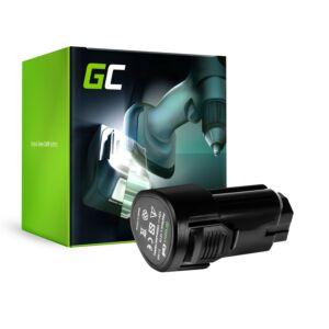 Green Cell Kéziszerszám akkumulátor L1215 AEG BBH12 BBS12C BBS12C2 BS12C BS12C2 BSB12C BSB12C2 OMNI 12C