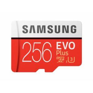 Samsung MicroSD Card EVO+ 256GB Class10 + Adapter MB-MC256GA/EU