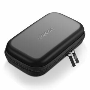 Ugreen HDD Power Bank tok tartó Box 16.5 x 9.5 x 4.5 cm - Fekete (40707)