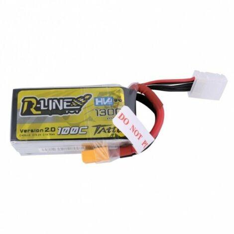 RC akkumulátor - Tattu R-Line 1300mAh 14,8V 100C 4S1P HV