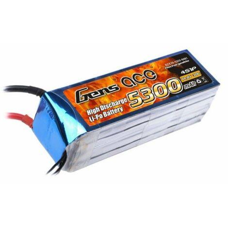 RC akkumulátor - Gens Ace 5300mAh 14.8V 30C 4S1P