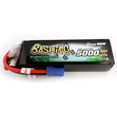 RC akkumulátor - LiPo Gens Ace Bashing 5000mAh 14,8V 4S1P 50C EC5