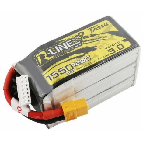 RC akkumulátor - Tattu R-Line 3.0 1550mAh 22.2V 120C 6S1P XT60