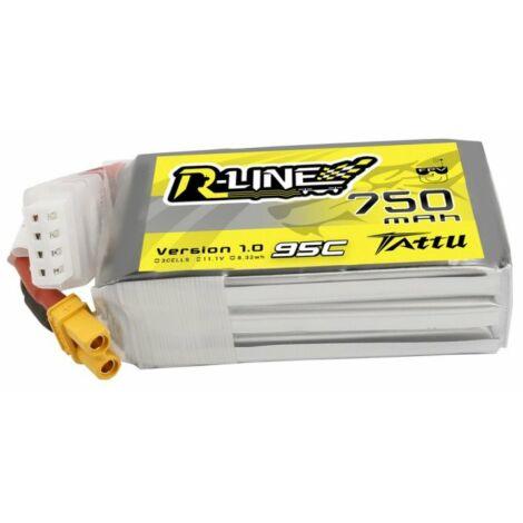 RC akkumulátor - Tattu R-Line 750mAh 11.1V 95C 3S1P XT30U-F