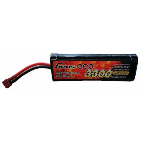RC akkumulátor - Gens Ace 3300mAh 8,4V NiMH Hump T-Dean