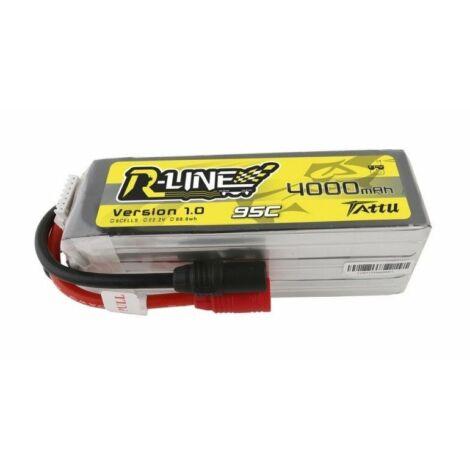 RC akkumulátor - Tattu R-Line 4000mAh 22.2V 95C 6S1P