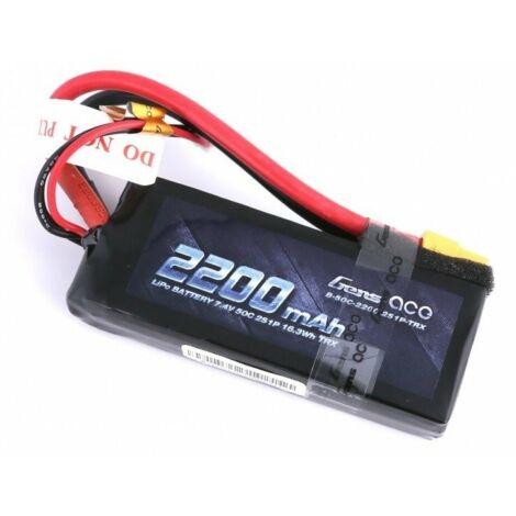 RC akkumulátor - Gens Ace 2200mAh 7,4V 50C 2S1P XT60 (kemény tok)