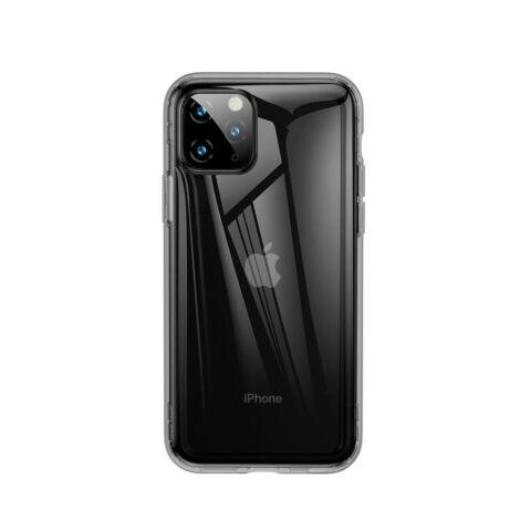 Baseus iPhone 11 Pro Safety Airbags védőtok tok Áttetsző Fekete (ARAPIPH58S-SF01)