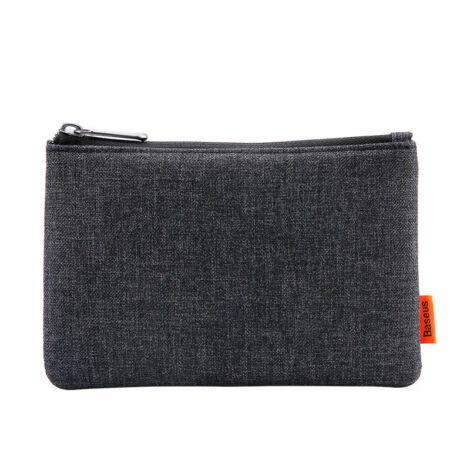 Baseus vízlepergetős szövet tároló táska – Szürke (LBSMP-01)