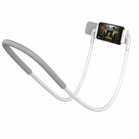 Baseus Tool Nyakpánt Telefontartó - Fehér (SUJG-ALR02)
