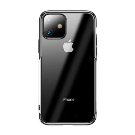 Baseus Glitter iPhone 11 védőtok tok – Fekete (WIAPIPH61S-DW01)