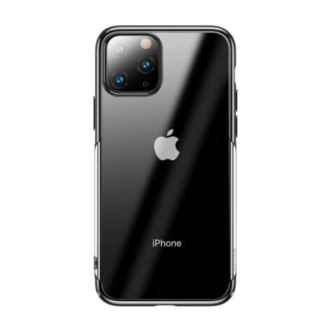 Baseus Glitter iPhone 11 Pro Max védőtok tok – Fekete (WIAPIPH65S-DW01)