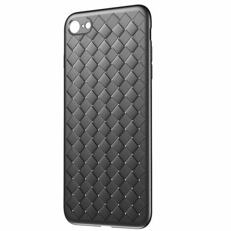 Baseus BV Weaving Apple iPhone 6/6s Plus Védőtok tok - fekete (WIAPIPH6SP-BV01)