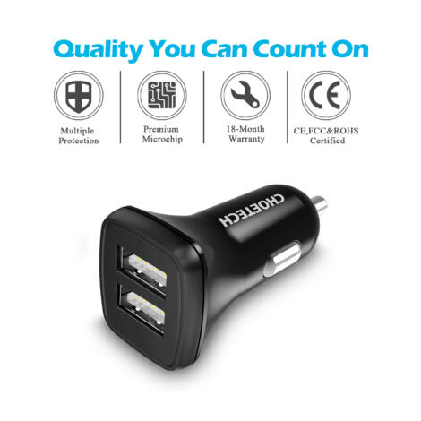 Asus Memo Pad Dual 2 portos USB autós szivargyújtó töltő