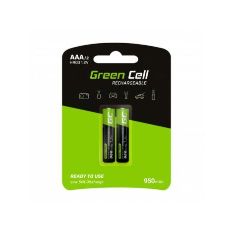 Green Cell 2x Akumulator Újratölthető AAA Elem HR03 950mAh