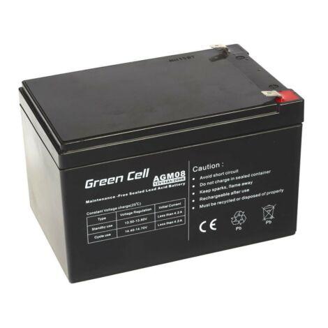 Green Cell AGM zselés akkumulátor 12V 14Ah