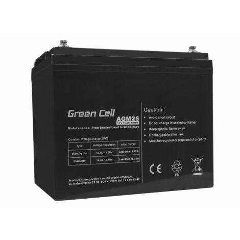 Green Cell AGM akkumulátor VRLA 12V 75 Ah