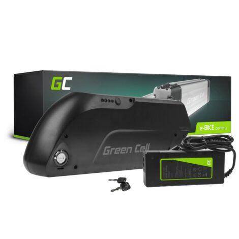Green Cell Elektromos kerékpár akkumulátor Down Tube 36V 15.6Ah 562Wh E-Bike Pedelec