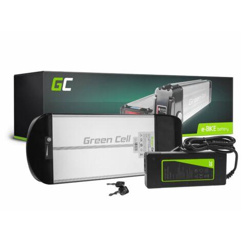 Green Cell Elektromos kerékpár akkumulátor 36V 10Ah Rear Rack E-Bike Pedelec