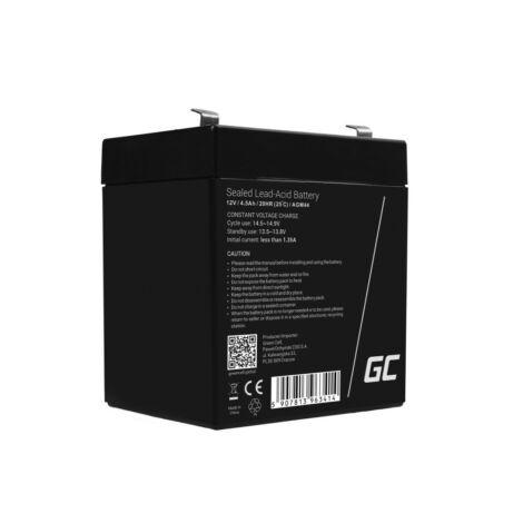 Green Cell AGM akkumulátor/akku 12V 4.5Ah