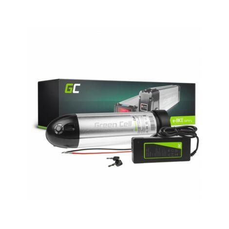 Green Cell Elektromos kerékpár akkumulátor 36V 8.8Ah Li-Ion Bottle Type E-Bike töltővel