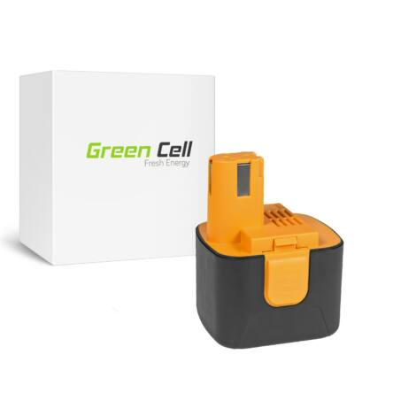 Green Cell Kéziszerszám akkumulátor Panasonic EY9001 EY9101 EY9108 EY9200 EY9201 12V 3.3Ah