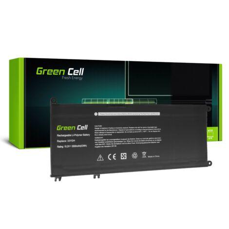 Green Cell Laptop akkumulátor 33YDH Dell Inspiron G3 3579 3779 G5 5587 G7 7588 7577 7773 7778 7779 7786 Latitude 3380 3480 3490 3590