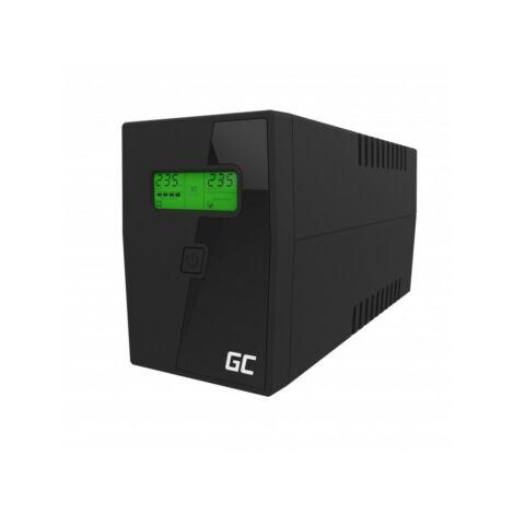 Green Cell UPS Szünetmentes tápegység Micropower 600VA LCD kijelző