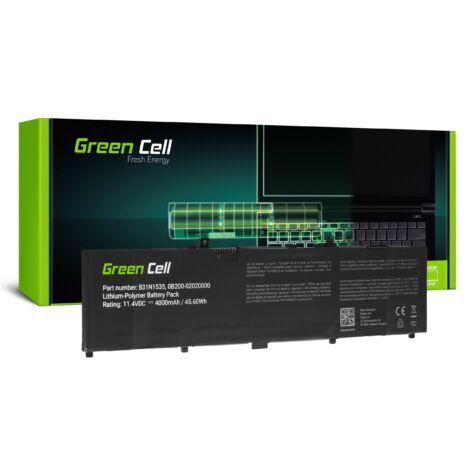 Green Cell Laptop akkumulátor B31N1535 Asus ZenBook UX310 UX310U UX310UA UX310UQ UX410 UX410U UX410UA UX410UF UX410UQ UX3410 UX3410U