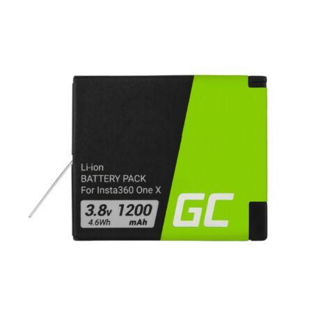 Green Cell Digitális kamera akkumulátor Instax INSTA360 ONE X 3.8V 1200mAh