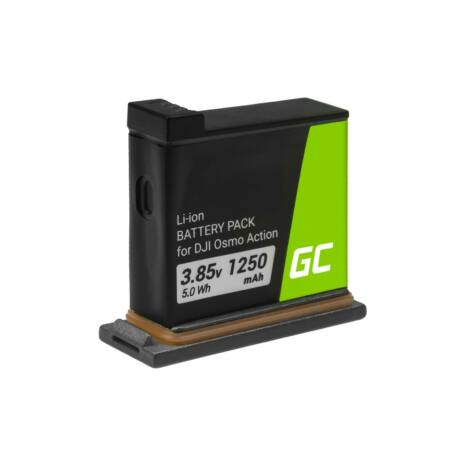 Green Cell Digitális kamera akkumulátor AB1 DJI OSMO Action 3.85V 1250mAh