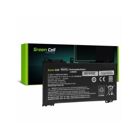 Green Cell Pro Laptop akkumulátor RE03XL HP ProBook 430 G6 G7 440 G6 G7 445 G6 G7 450 G6 G7 455 G6 G7 445R G6 455R G6