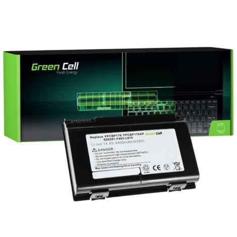 Green Cell Laptop akkumulátor Fujitsu LifeBook E8410 E8420 E780 N7010 AH550 NH570